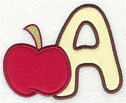 Letter Applique - A embroidery design