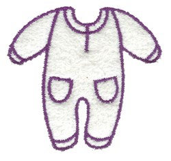 Sleeper Outline embroidery design