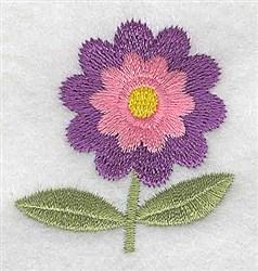 Floral Stem embroidery design