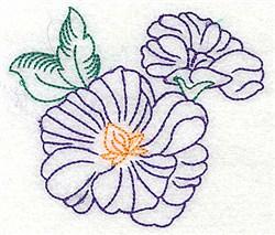 Pretty Blooms embroidery design