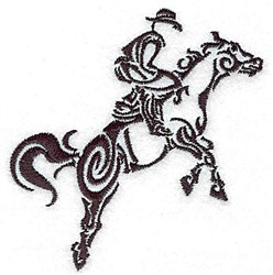 Leapig Horse embroidery design