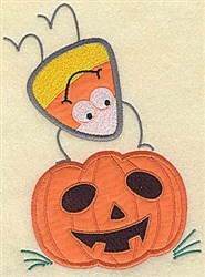 Jack O Lantern Halloween embroidery design