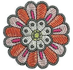 Tudor Blossom embroidery design