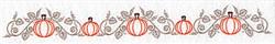 Pumpkins Border embroidery design