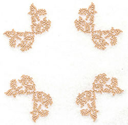 Inverted Corners embroidery design