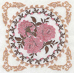 Circle Of Roses embroidery design