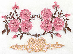 Rose Design embroidery design
