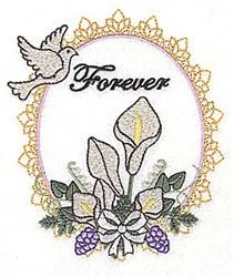 Forever Frame embroidery design