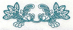Double Flower embroidery design