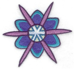 Snowflake 6 embroidery design