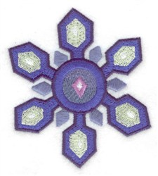 Snowflake 8 embroidery design