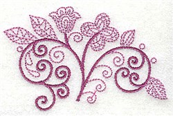 Whimsical Flower 5 embroidery design