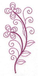 Whimsical Flower 10 embroidery design
