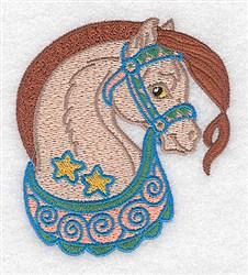 Adorable Horse embroidery design