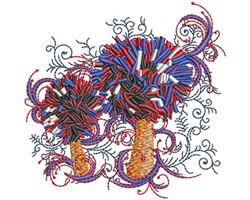 POM POM SWIRLS embroidery design