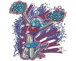 SPIRIT BLAST embroidery design