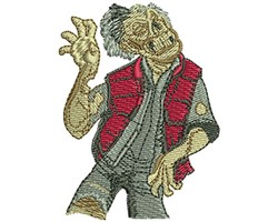 ZOMBIE WALK embroidery design