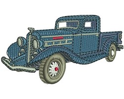 REO SPEEDWAGON TRUCK embroidery design