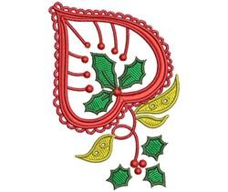 ChristmasPaisley-02 embroidery design