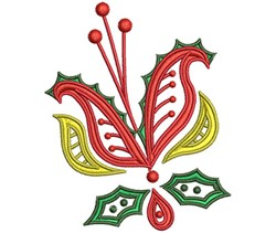 ChristmasPaisley-09 embroidery design