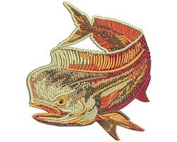 MAHI HOT ROD embroidery design