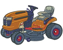 LAWNMOWER embroidery design