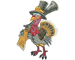 TURKEY SHOOT embroidery design