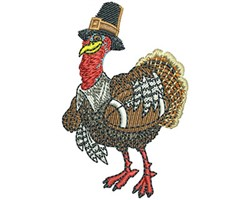 TURKEY DAY FOOTBALL embroidery design