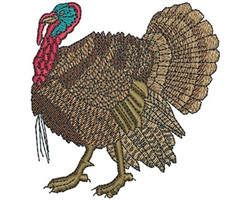 GOBBLER embroidery design