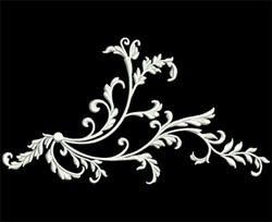 Swirl Decor embroidery design