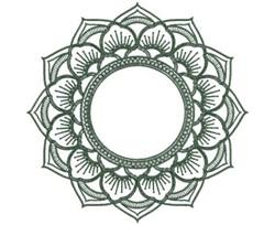 MonoMandalas_3 embroidery design