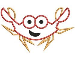 Crab Applique embroidery design