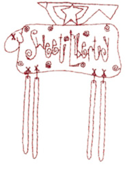 Sweet Liberty embroidery design
