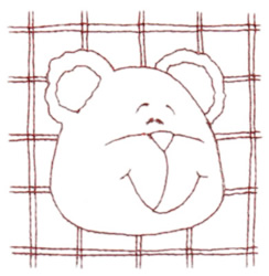 Snickerdoodle Bear 3 embroidery design