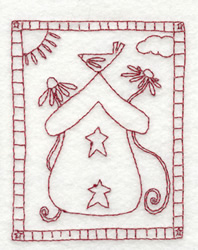 A Place In The Sun embroidery design