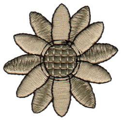 Daisy embroidery design