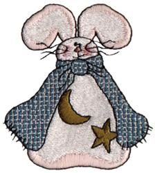 Celestial Bunny embroidery design