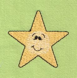 Cute Little Star embroidery design