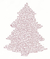 Stipple Tree embroidery design