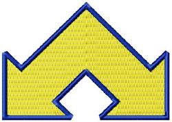 Arrow 5a embroidery design