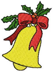 Christmas Bell embroidery design
