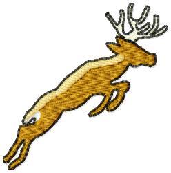 Reindeer Buck embroidery design