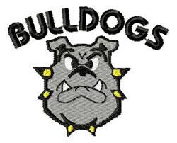 Bulldogs4 Lg. embroidery design