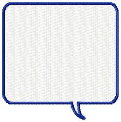 Square Callout embroidery design