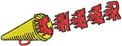 Mega Cheer embroidery design
