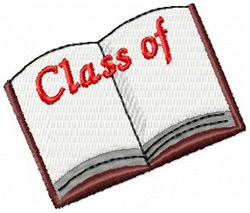 Class Of Book embroidery design