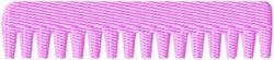 Comb embroidery design