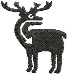 Native Deer embroidery design