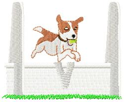 Dog Show embroidery design