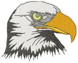 Eagle Head- large embroidery design